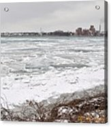 Detroit River Acrylic Print