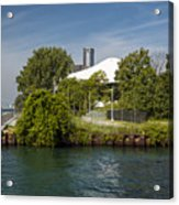 Detroit Riverfront 1 Acrylic Print