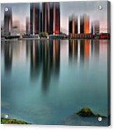 Detroit Sunrise Acrylic Print