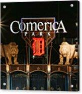 Detroit Tigers - Comerica Park Acrylic Print by Gordon Dean II
