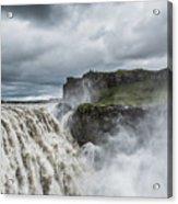 Dettifoss Waterfall Acrylic Print