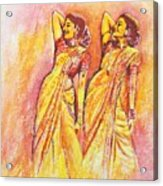 Devdas Dance Acrylic Print