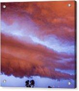 Developing Nebraska Night Shelf Cloud 011 Acrylic Print