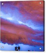 Developing Nebraska Night Shelf Cloud 012 Acrylic Print