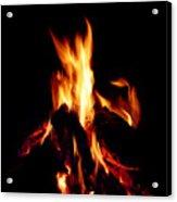Devil Fire Acrylic Print