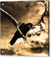 Devil In The Clouds Acrylic Print