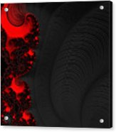 Devil Light 2   A Fractal Abstract Acrylic Print