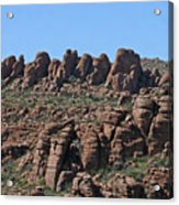 Devils Canyon Arizona Acrylic Print