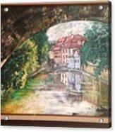 Devil's Creek - Prague Acrylic Print