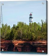 Devils Island Apostle Islands Lighthouse Acrylic Print
