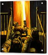 Devil's Stairway Acrylic Print