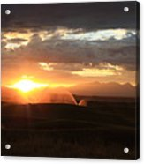 Devils Thumb Sunrise Acrylic Print