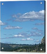 Devils Tower And The Missouri Hills Acrylic Print