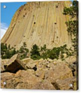 Devils Tower Four Acrylic Print