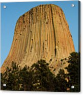 Devils Tower Acrylic Print