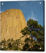 Devils Tower One Acrylic Print