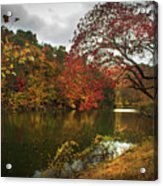 Dewey Lake In Autumn Acrylic Print
