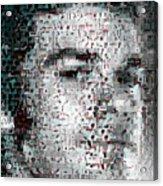 Dexter Blood Splatter Mosaic Acrylic Print