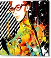 Dexterous Dame Acrylic Print