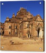 Dhammayangyi Temple Acrylic Print