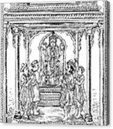 Dhanvantari, God Of Ayurvedic Medicine Acrylic Print