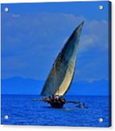 Dhow On The Indian Ocean 2 Acrylic Print