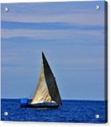 Dhow On The Indian Ocean Acrylic Print