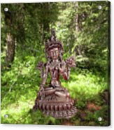 Dhyana Acrylic Print