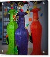 Dia De Los Muertes Metal Sculptures Acrylic Print
