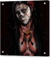 Dia De Los Muertos 3 Acrylic Print by Pete Tapang