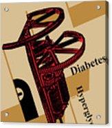 Diabetes No. I Acrylic Print