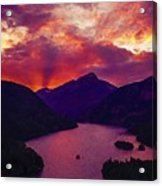 Diablo Lake, United States Acrylic Print