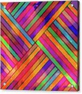Diagonal Offset Acrylic Print