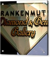 Diamond And Gem Gallery Acrylic Print