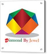 Diamond Art Acrylic Print
