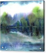 Diamond Bay Acrylic Print
