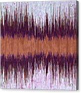 11041 Diamond Dogs By David Bowie Acrylic Print