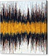 11049 Diamond Dogs By David Bowie V5 Acrylic Print