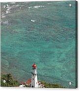 Diamond Head Lighthouse 3 Acrylic Print