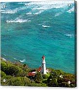 Diamond Head Lighthouse Acrylic Print