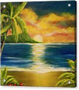 Diamond Head Sunrise #405 Acrylic Print