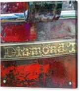 Diamond T Acrylic Print