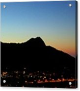Diamondhead Sunrise Acrylic Print