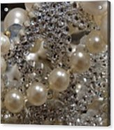 Diamonds And Pearls 2 Acrylic Print