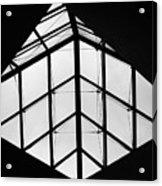 Diamonds In The Black Acrylic Print
