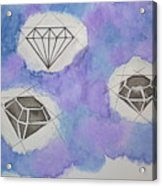 Diamonds In The Sky  Acrylic Print