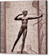 Diana - Goddess Of Hunt Acrylic Print