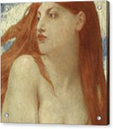 Diana, 1902 Acrylic Print