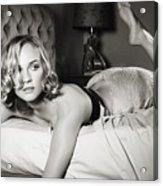 Diane Kruger Acrylic Print