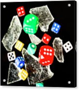 Dicing With Chance Acrylic Print